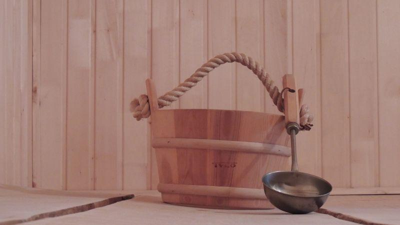 Sauna mokra ceber