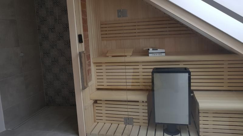 Sauna pod skosem